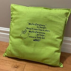Other - Grinch Pillow